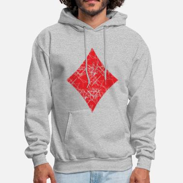 Playing Card Diamond Play Cards - Men's Hoodie