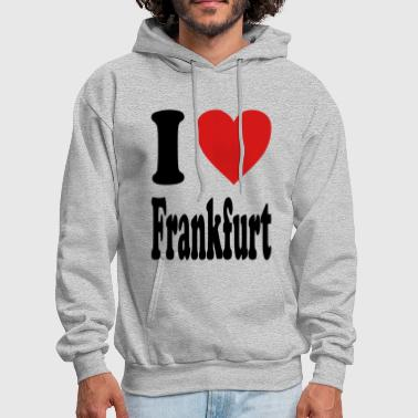 I love Frankfurt (variable colors!) - Men's Hoodie