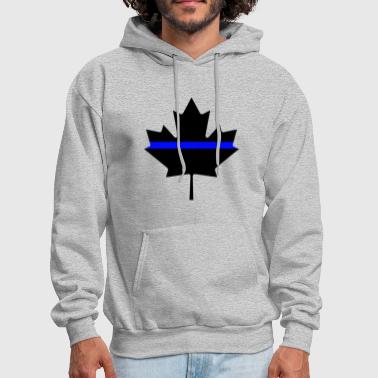 Canada Thin Blue Line - Men's Hoodie