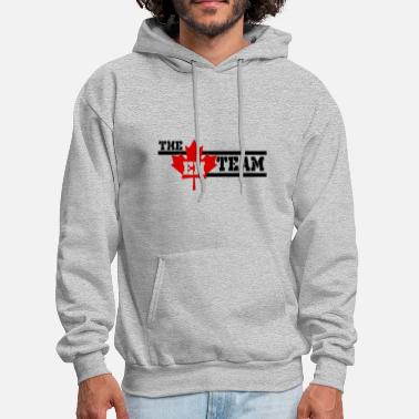 Team Canada The Eh Team Canada Canadian - Men's Hoodie