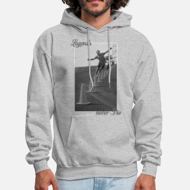 Longboard Legends never Die - Brian Logan - Men's Hoodie