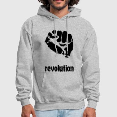Anti Against Television Mainstream - Men's Hoodie