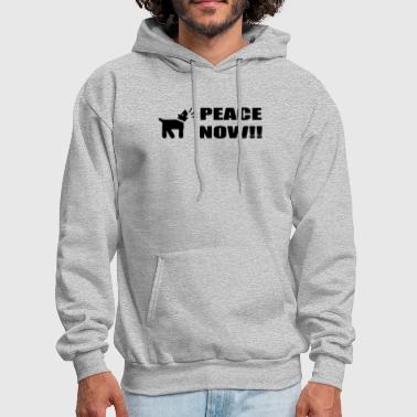 Activist Dog Peace Now - Men's Hoodie