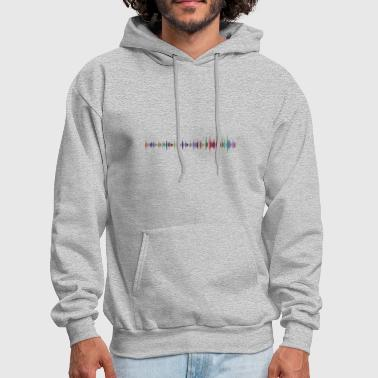 Sound Waves sound wave - Men's Hoodie