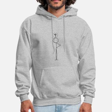 Stick Confused - Men's Hoodie