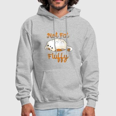 Fluffy Not Fat, Fluffy - Men's Hoodie