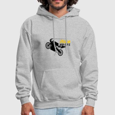 Gps Ride with GPS - Men's Hoodie