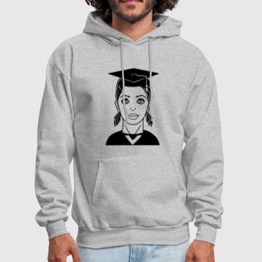 learn high school graduation school graduation hig - Men's Hoodie