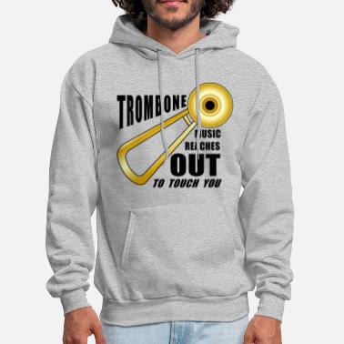 Trombone Trombone Reaches Out  - Men's Hoodie