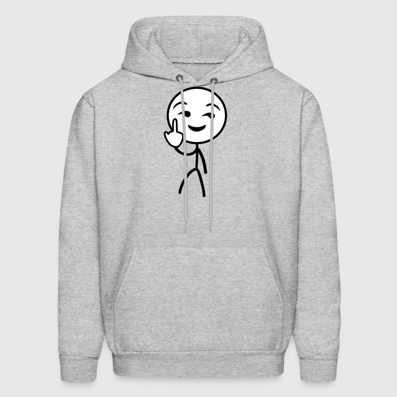 Fuck you stickman - Men's Hoodie