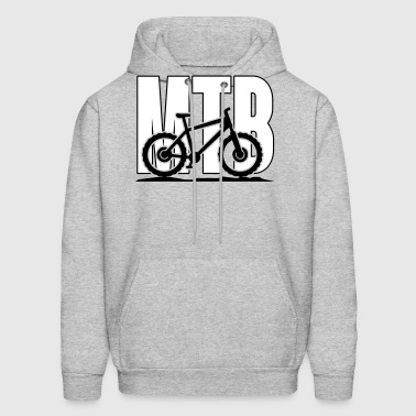 MTB, Mountain Bike - Men's Hoodie