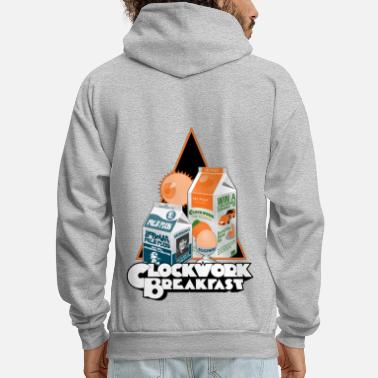 Funny Collection Clockwork Breakfast - Men's Hoodie