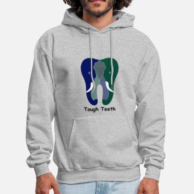 Teeth Tough Teeth - Men's Hoodie