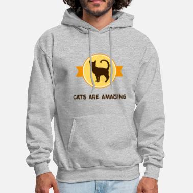 Amazing Cats are amazing - Men's Hoodie