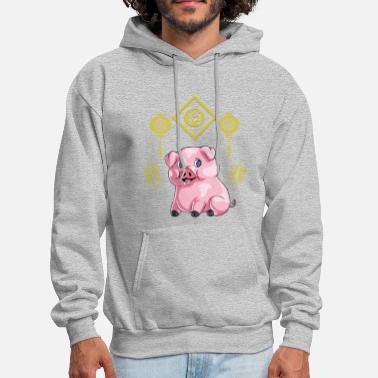 Chinese New Year Chinese New Year Pig - Men's Hoodie