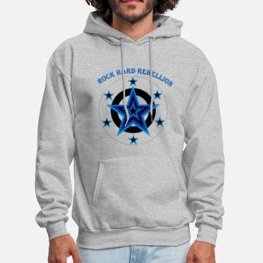 Hard Rock rock hard rebellion - Men's Hoodie