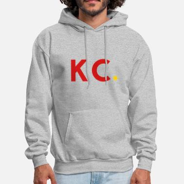 Kansas City The Collective | KC - Red - Men's Hoodie