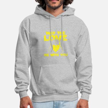 May May the love be with you - Men's Hoodie