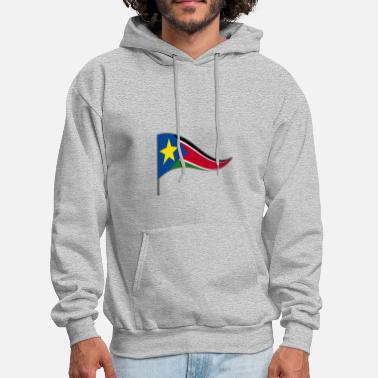 South Sudan South Sudan Africa Flag Banner Flags Ensigns - Men's Hoodie