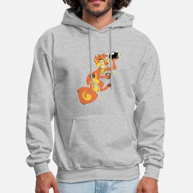 Fur Furs On Fire - Men's Hoodie