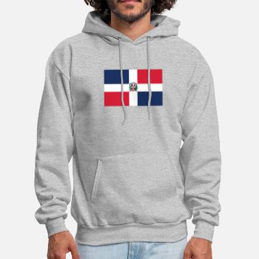 Dominican Republic Flag of the Dominican Republic Cool Flag - Men's Hoodie