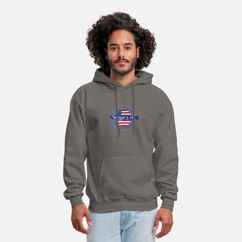 Thank You For Your Service Patriotic Veterans Day Men s Hoodie ... f88d2ebcb