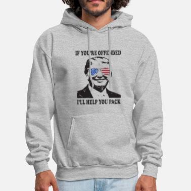 Pepe Donald Trump President Funny Political Mens If Off - Men's Hoodie