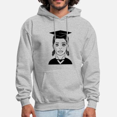 High School Graduate learn high school graduation school graduation hig - Men's Hoodie