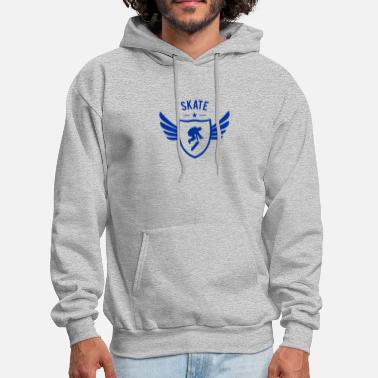 Skate Star Winged - Men's Hoodie