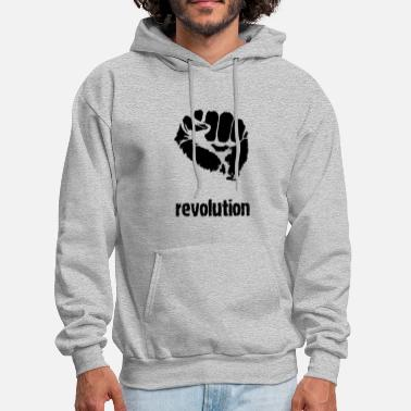 Mainstream Anti Against Television Mainstream - Men's Hoodie