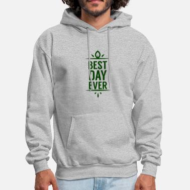 Wedding Day Best Day Ever Wedding - Men's Hoodie