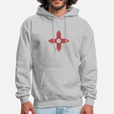 Mexico new mexico funny logo - Men's Hoodie