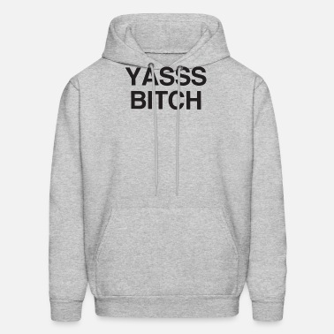 Yasss Bitch Bish Funny Preach Meme Vine Tee Hipste Unisex Tri-Blend
