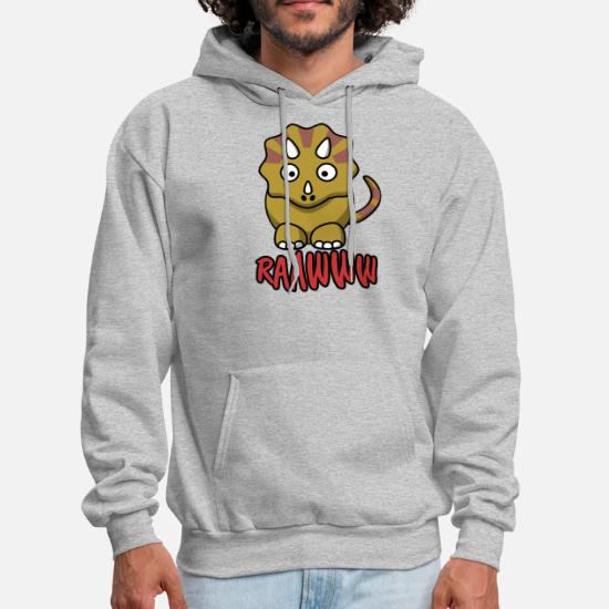 7795d69c139ad Cute Baby Dinosaur Triceratops Gift Men's Hoodie | Spreadshirt