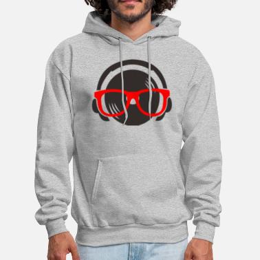 Hearing hear music - Men's Hoodie