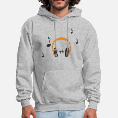 Headphones headphone - Men's Hoodie