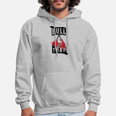 ebc28a95 Stock Market BULLTRAP Bitcoin Trading Stock market Shirt - Men's Hoodie.  Men's Hoodie