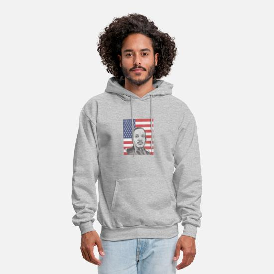 Memorial Day Hoodies & Sweatshirts - martin luther memorial day - Men's Hoodie heather gray