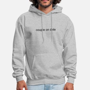 Date Of couple on date - Men's Hoodie