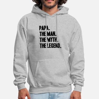 Papa The Legend - Men's Hoodie