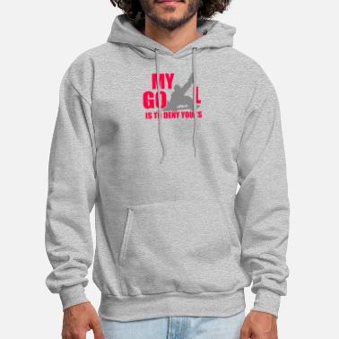 Goalie Hockey skate Goalie - Men's Hoodie