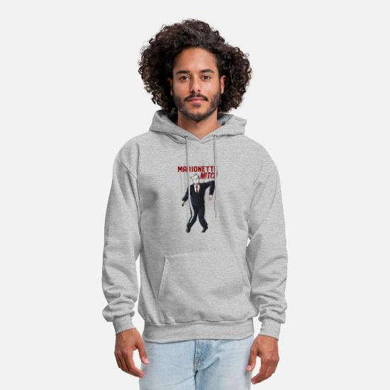 Moscow Hoodies & Sweatshirts - Marionette Mitch - Men's Hoodie heather gray