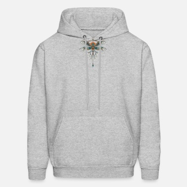 Fly Dragonfly Mens Hoodies Soft Cozy Hooded Sweatshirts Sweater Long Sleeve T Shirt