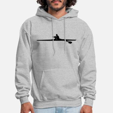 Single Rowing single - man - Men's Hoodie