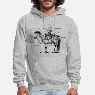 Western Riding Thelwell Learning Western Riding - Men's Hoodie