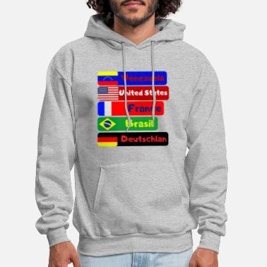 Countries countries - Men's Hoodie