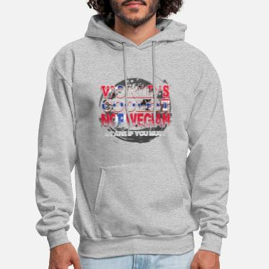 Living with A Norwegian Builds Character Funny Hoodie Norway Gift Hoodie