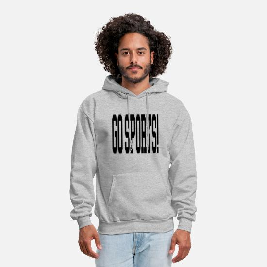 Sports Hoodies & Sweatshirts - go sports - Men's Hoodie heather gray