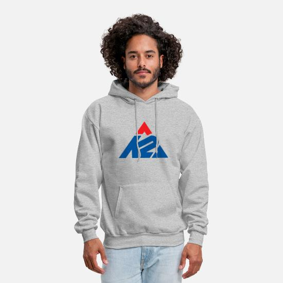 Skis Hoodies & Sweatshirts - K2 Ski Snowboarding - Men's Hoodie heather gray