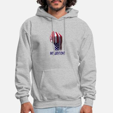 Tough Patriot - Men's Hoodie